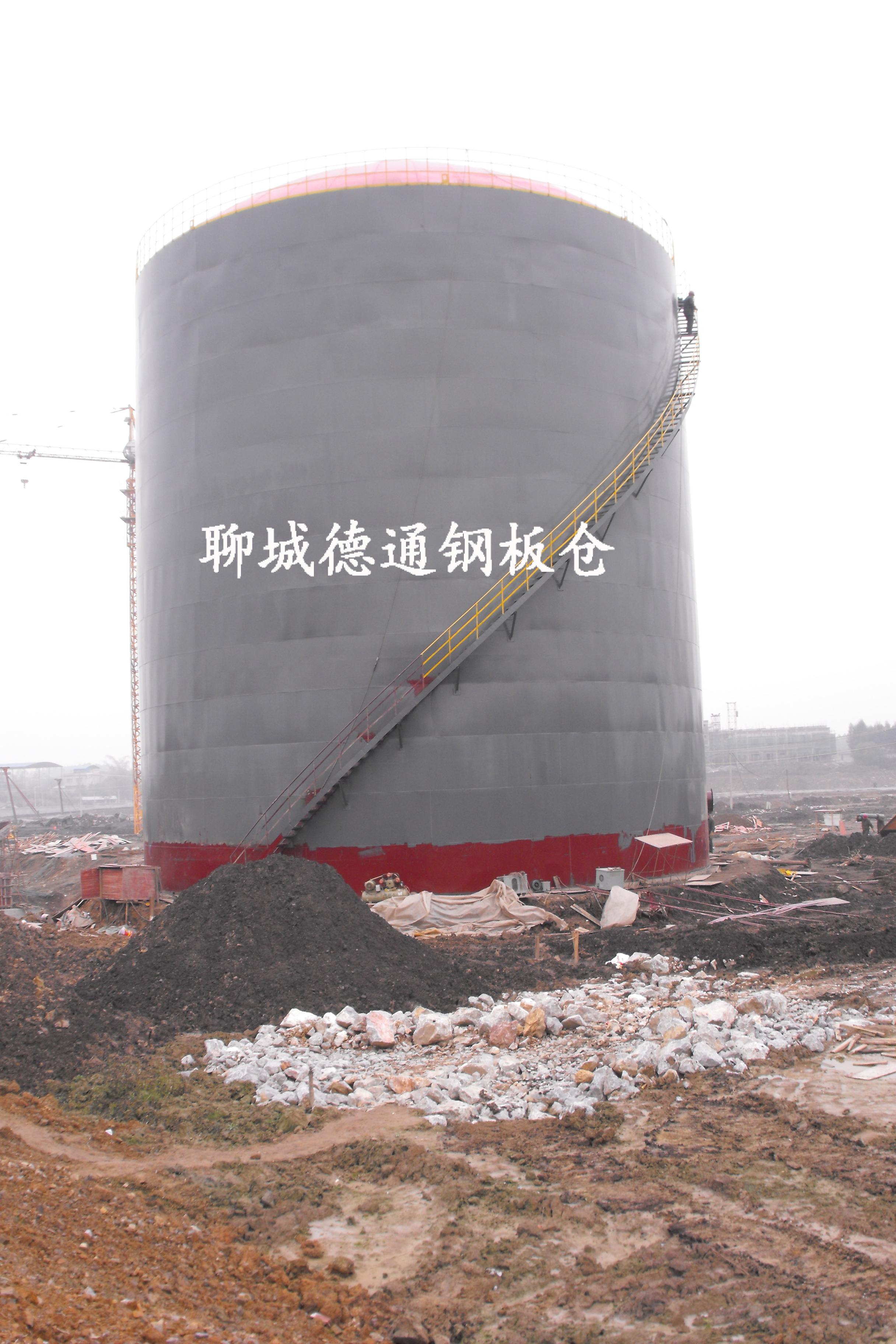 广西5千吨粉煤灰钢板库