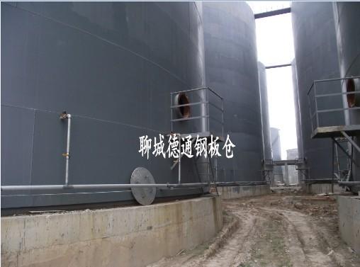河北1万吨水泥钢板库 8座