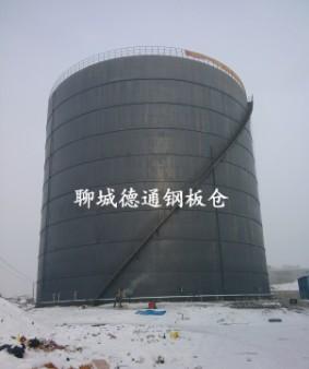 吉林2万吨粉煤灰钢板库