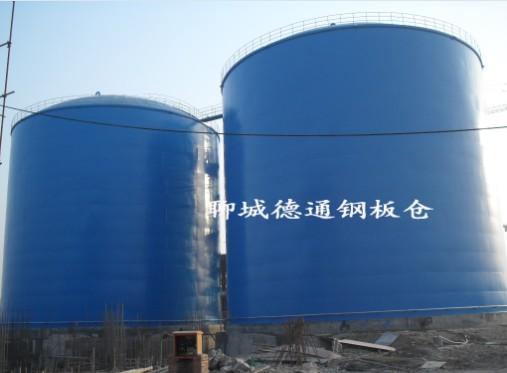 内蒙2万吨水泥钢板库2座