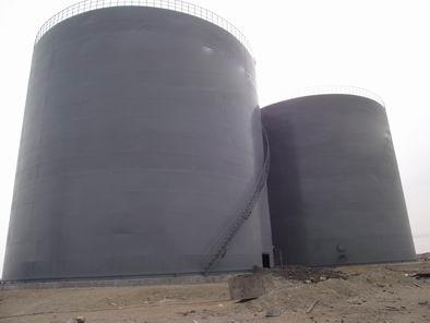 大型落地式焊接钢板库