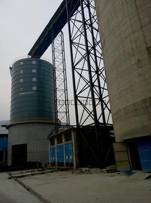 5000吨水泥高架焊接钢板仓